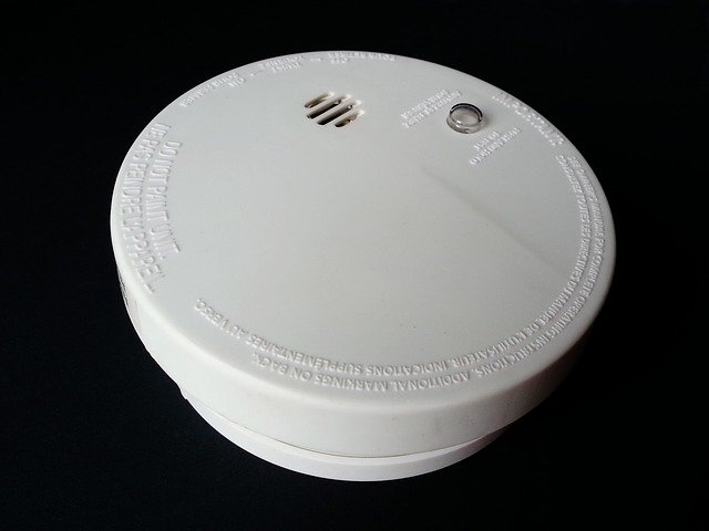 Kitchen Fire - Smoke detector