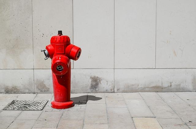 Site Preparation - Fire hydrant