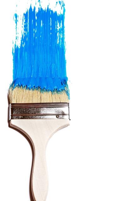 modern paint brush