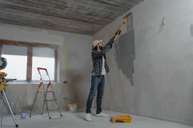 How To Paint A Wet Wall